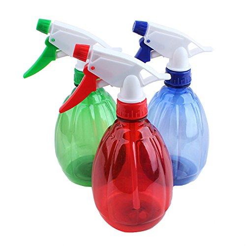 Bouteille en plastique avec vaporisateur pour plantes, animaux, savon