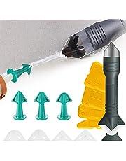 SAFETYON Siliconen Sealant Remover 13 stks, Grout Tool Grout Schraper Caulking Tool Kit Sealant Afwerking Tool 3 in 1 Multifunctionele Siliconen Schraper Set voor Keuken Badkamer Vloertegel Sink