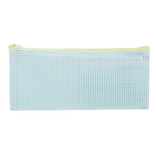 VWH Femmes Voyage Wash Cosmetic Sac Transparent Mesh Make Up Organizer Toiletry Beauty Pouch(bleu)