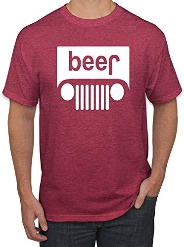 Bier Logo | PKW und LKW Parodie Alkohol | Herren Trink Tee Tee Grafik T-Shirt 4XL