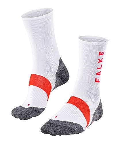 FALKE Herren BC6 Racing Biking Socken, White, 46-48