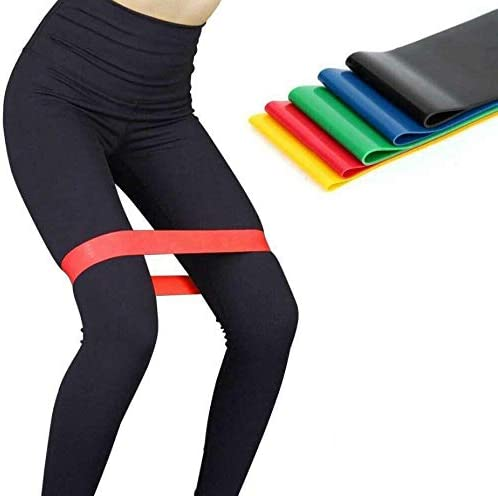 discount iKiKin discount Workout Resistance Bands online Loop Set Fitness Yoga Booty Leg Exercise Band online
