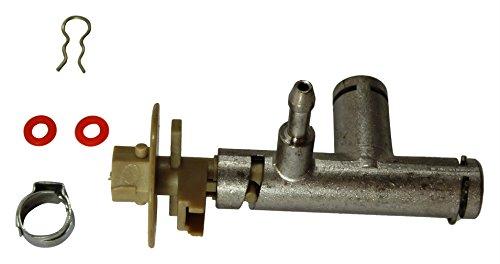 SAECO Ventilkörper Hahnenkörper Dampfventil Dampf-Ventil Incanto-Modelle inkl. Klemme + Dichtung NEU