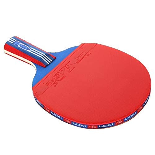 Best Deals! HUATINGRHPP Ping Pong Ping Pong Paddle Table Tennis Set, Ping Pong Paddle Set with Racke...
