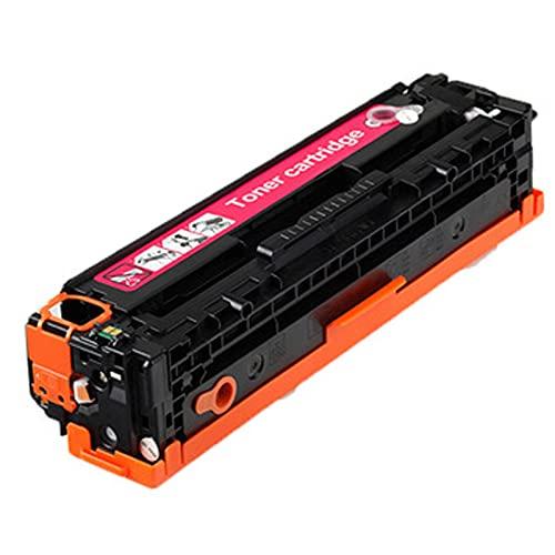 XIGU Compatible con HP CF210A Cartucho de tóner de repuesto para impresora HP LaserJet Pro 200 Color M251nw 276n 276nw, oficina bancaria suficientes, impresión suave, magenta