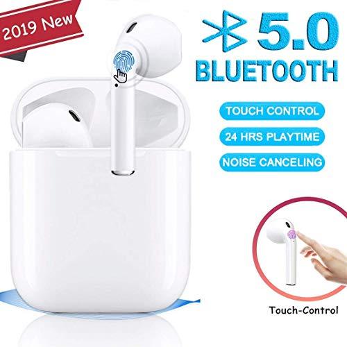 huaraobaihuo Auricolare Bluetooth Cuffia Auricolare per la riduzione del Rumore delle Cuffie...