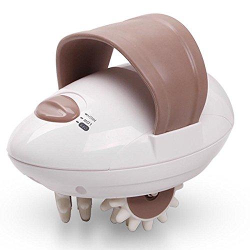 Zantec Massaggiatore Elettrico Perdita di Peso e bruciagrassi 3D Completo per Il Corpo Rullo di Cellulite alleviare la Tensione per rilassamento