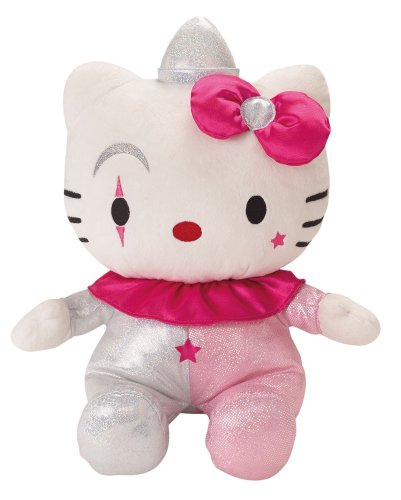 Jemini - 022709 - Peluche - Hello Kitty Clown Brillant - 40 Cm