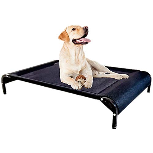 Cooling Elevated Pet BedPet Dog Beds for Large Medium Small Dogs - Portable...