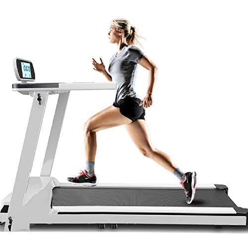 Wotemaile Luxe elektrische gemotoriseerde loopband, hartslagbewaking, indoor walking gym, gewichtsverlies, hardlopen, fitnessapparaten voor thuis, loopbanden