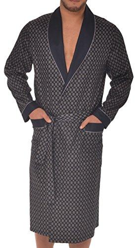 Robe de Chambre pour Hommes RE-504 – Bleu foncé...