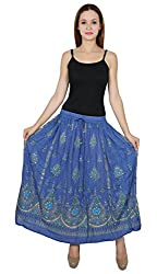 Nakashi Ladies Indian Boho Hippie Gypsy Long Sequin Skirt | Bellydance Skirts |