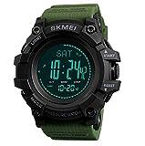 *LOVOVR Rellotge Intel·ligent, Miri amb *Altímetro/Baròmetre/Termòmetre/Brúixola/Pronòstic del Temps, Córrer, Escalar I Escalar Rastrejador D'Exercicis, Homes I Aventurers Impermeable Rellotge Esportiu