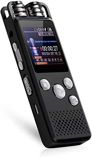 ZouYongKang Mini grabadora activada por voz, 4GB / 8GB / 16GB / 32GB Super Long 500 horas de grabación Capacidad de grabación, grabación de sonido de audio Dispositivo de escucha continua con magnétic