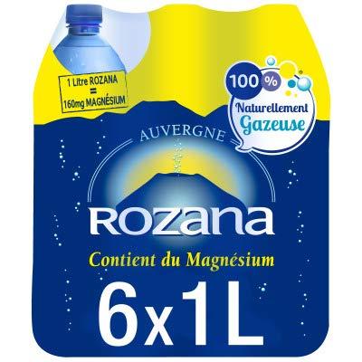 Rozana Eau Minérale Naturelle gazeuse 6 x 1L