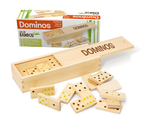 Jeujura JeujuraJ66100 Bamboo Dominos spel