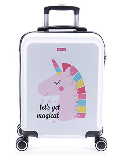 imome Cool Maleta de Cabina Infantil Let's Get Magical 55x40x20 cm | Equipaje de Mano,...