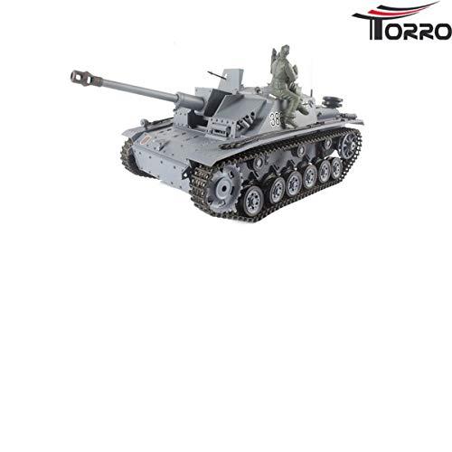 Heng Long RC Panzer StuG 3 Sturmgeschütz III Ausf.G 2.4 GHz, Schuss, Rauch etc.