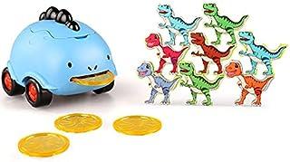 Licogel مضحك ذكي مثير للاهتمام العالمي السلس جولة ديناصور سيارة لعبة مجموعة البلاستيك التفاعلية السلس الذكية للاهتمام إطلا...