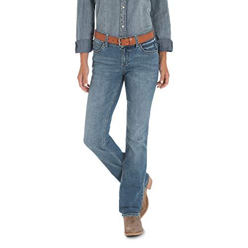 Wrangler Women's Premium Patch Mae Jean-Sits Above Hip, Lancaster 3X36