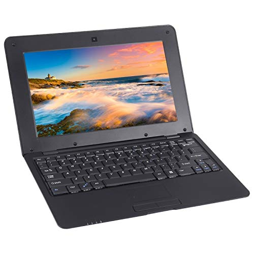 JSNASUI 13 inch tablet Netbook PC, 10.1 Inch, 1GB+8GB, Android 6.0 Allwinner A33 Quad Core 1.5GHz, WiFi, USB, SD, RJ45 (Color : Black)