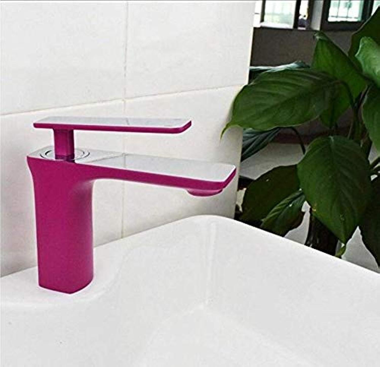 Retro Wasserhahn Armaturen Becken Wasserhahn Hot And Cold Single Hole Einhand-Waschtischbatterie Schwarz