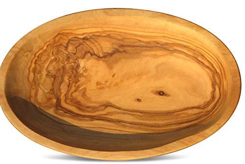 Figura Santa Olivenholz Schale LIDO - Holzschale. Aperitivschale, Gewürzschale, Schlüsselablage, Schmuckschale. Jede Schale ist EIN Unikat. Circa 12 x 7,5 cm.