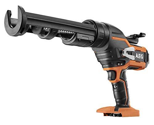 AEG 4935471246 Kartuschenpistole (18V, sechs Geschwindigkeitsstufen, Anti-Tropf-Mechanismus, Gürtelclip, ohne Akku) BKP18C-310-0