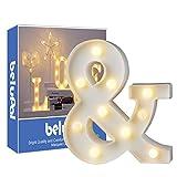 Letras Led Letras Luminosas Decorativas Letras Alphabet Light Luces De Espejo Del Alfabeto A-Z con...