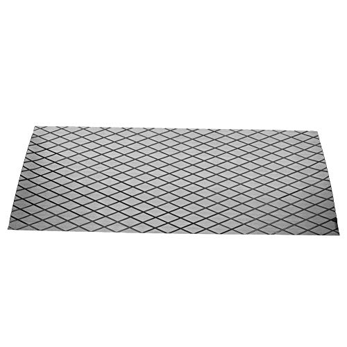 AYNEFY Boat Flooring Mat, Non-Skid Shock Absorption High Density Self-Adhesive Decking Decorative Pad for Boat Yacht, 70 x 190 cm / 27.5 x 74.8 inch(Gray + Black)