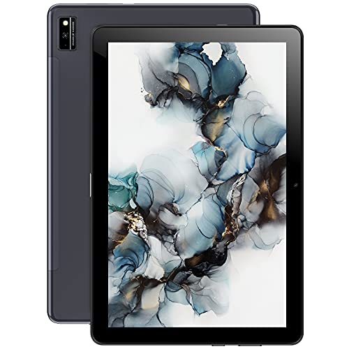 Tablet 10.1 Pulgadas Blackview Tab10 Tablets, 5G WiFi+4G Dual SIM Android 11 4GB+64GB Octa-Core 2.0GHZ Procesador, Tableta con Batería 7480mAh, 1200 * 1920 FHD+ Tablet con IA Cámara 8MP+13MP Gris