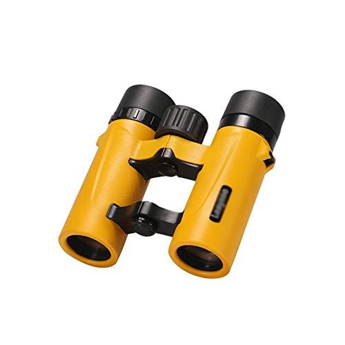 GR-Furniture 8x25 telescopio binoculares for Bird Watching al Aire Libre, Viajar, Turismo, Caza, Camping, Telescopio Plegable Profesional HD con luz de la Noche de Baja Visión, Spotting Scope