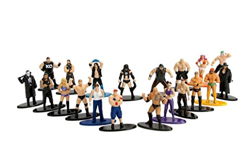 Jazwares- WWE Pack mit 20 Figuren, 84419