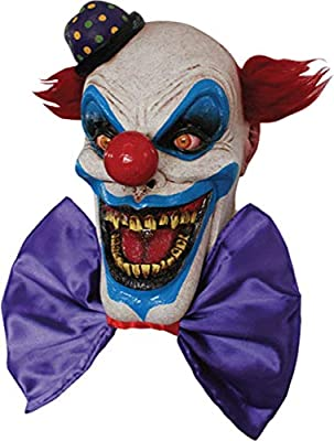 Ghoulish Adult Chompo The Clown Scary Mask Halloween Costume Accessory