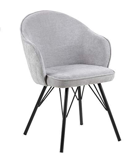 Amazon Brand - Movian Sils - Silla de comedor, 46,5 x 63 x 80cm, gris