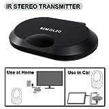 Best Infrared Headphones - SIMOLIO 2 Channels IR Audio Transmitter, Wireless Infrared Review