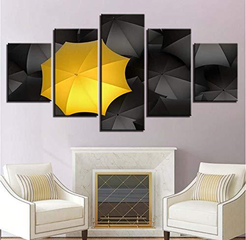 Modulare Moderne Leinwand Malerei HD Print Home Decor 5 Stück Wandkunst Regenschirm Bild Kunst Kinderzimmer Poster 30x40x2 30x60x2 30x80cm