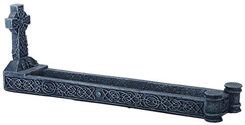 YTC Celtic Knot Cross Incense Burner Holder Figurine