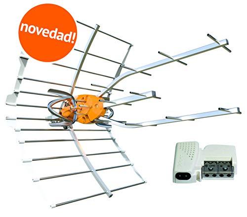 Kit 148902 Antena TV TELEVES Ellipse UHF 148910 + Fuente DE ALIMENTACIÓN TELEVES 5795.