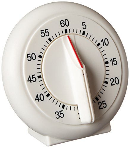 """Norpro New 60 Minute Kitchen Timer With Long Ring 3.5""""/9cm Easy To Read Operate"""