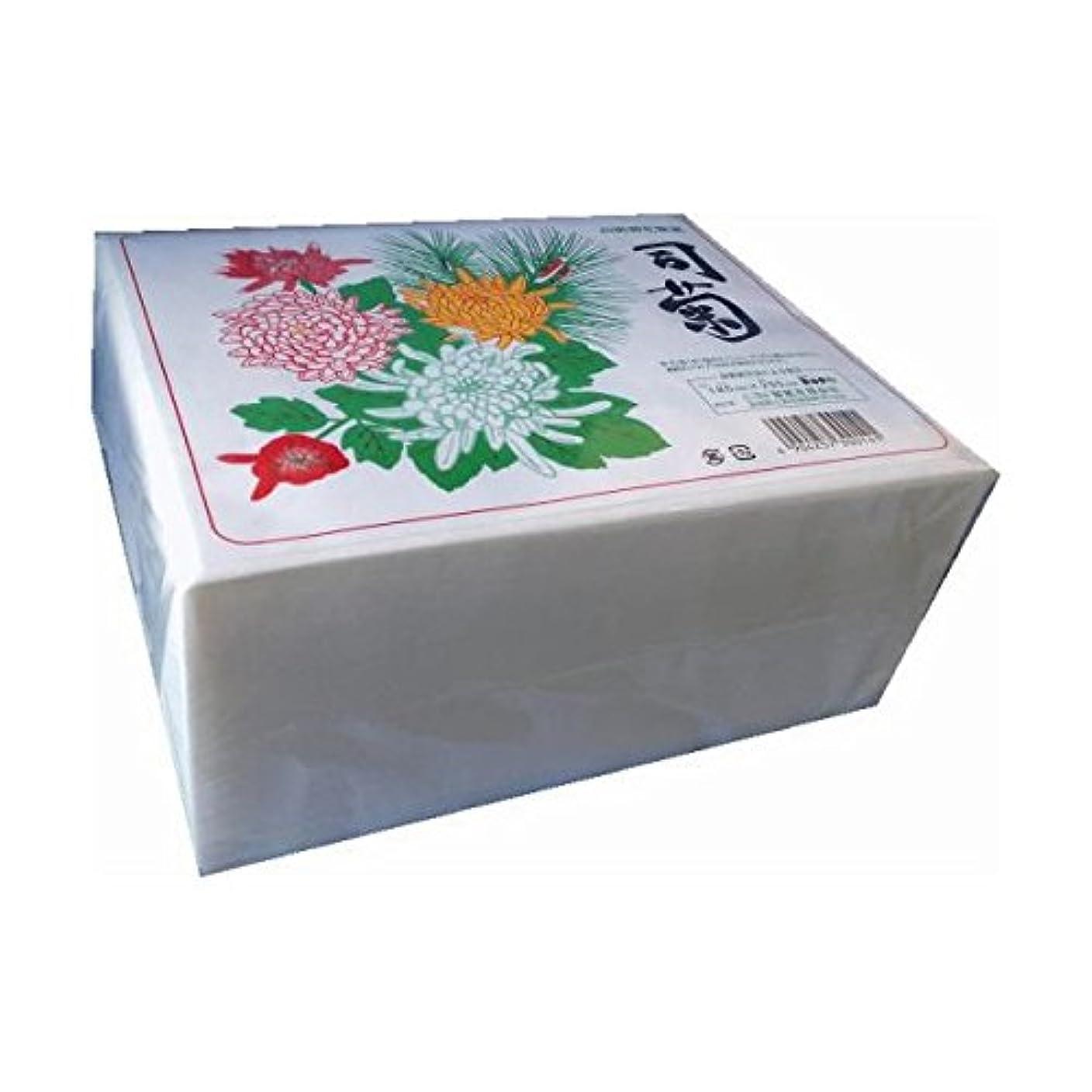 ミトン環境に優しい音声学ニヨド製紙:高級御化粧紙 司菊 800枚 5個 4904257300141b