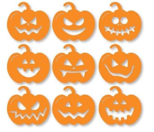 H7 Halloween-Schablone, lustige kleine Kürbisse, A5, A4, A3, wiederverwendbare Schablone, Mylar, wiederverwendbare Schablone, A3 size - 297 x 420 mm, 11.7 x 16.5 in