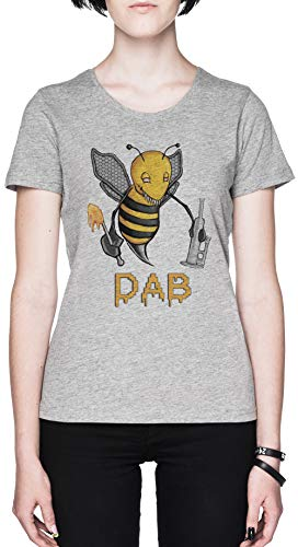 Bee Dab Graues Damen T-Shirt Grey Women's Tee