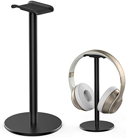 Full Aluminum Headphone Stand Headset Holder Gaming Headset Holder with Non Slip Silicone Earphone product image