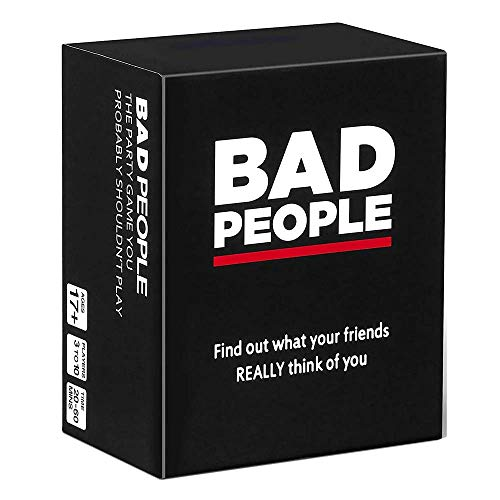 BAD PEOPLE - The Party Game You Probably Shouldn't Play