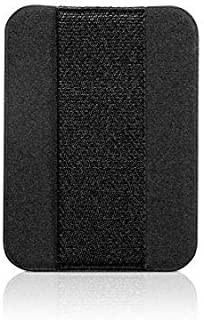 nobiggi Finger Strap Large (Premium Black) - Ultra thin - Extend Thumb Reach - For Most Mobile Devices