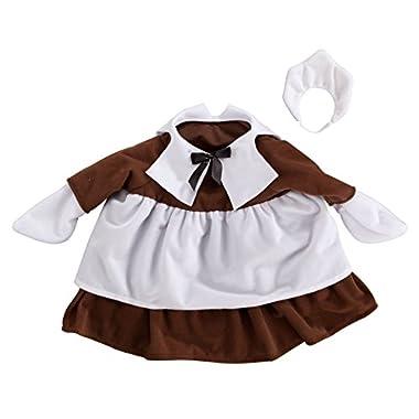 Miles Kimball Girl Pilgrim Goose Outfit