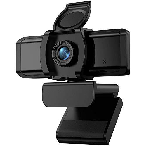 wansview Webcam 1080P con Microfono, Webcam PC con USB 2.0 per Videoconferenze, Lezioni, Giochi e Videochiamate