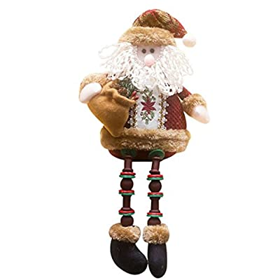 Covermason Christmas Decorations,Sitting Porcelain Santa,Reindeer Or Snowmen
