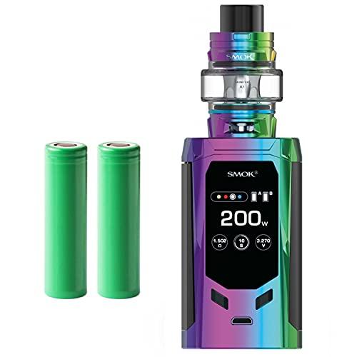 Smok R-Kiss Kit inkl. TFV8 Baby V2 (5 ml) 5000 mAh E-Zigarette E-Shisha Starterset (nikotinfrei) (regenbogen)